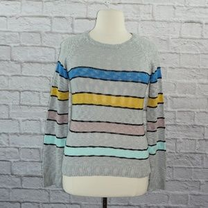 Cloud Chaser Striped Sweater XL